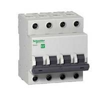 Автоматический выключатель EZ9 4Р, 40А, B, фото 1