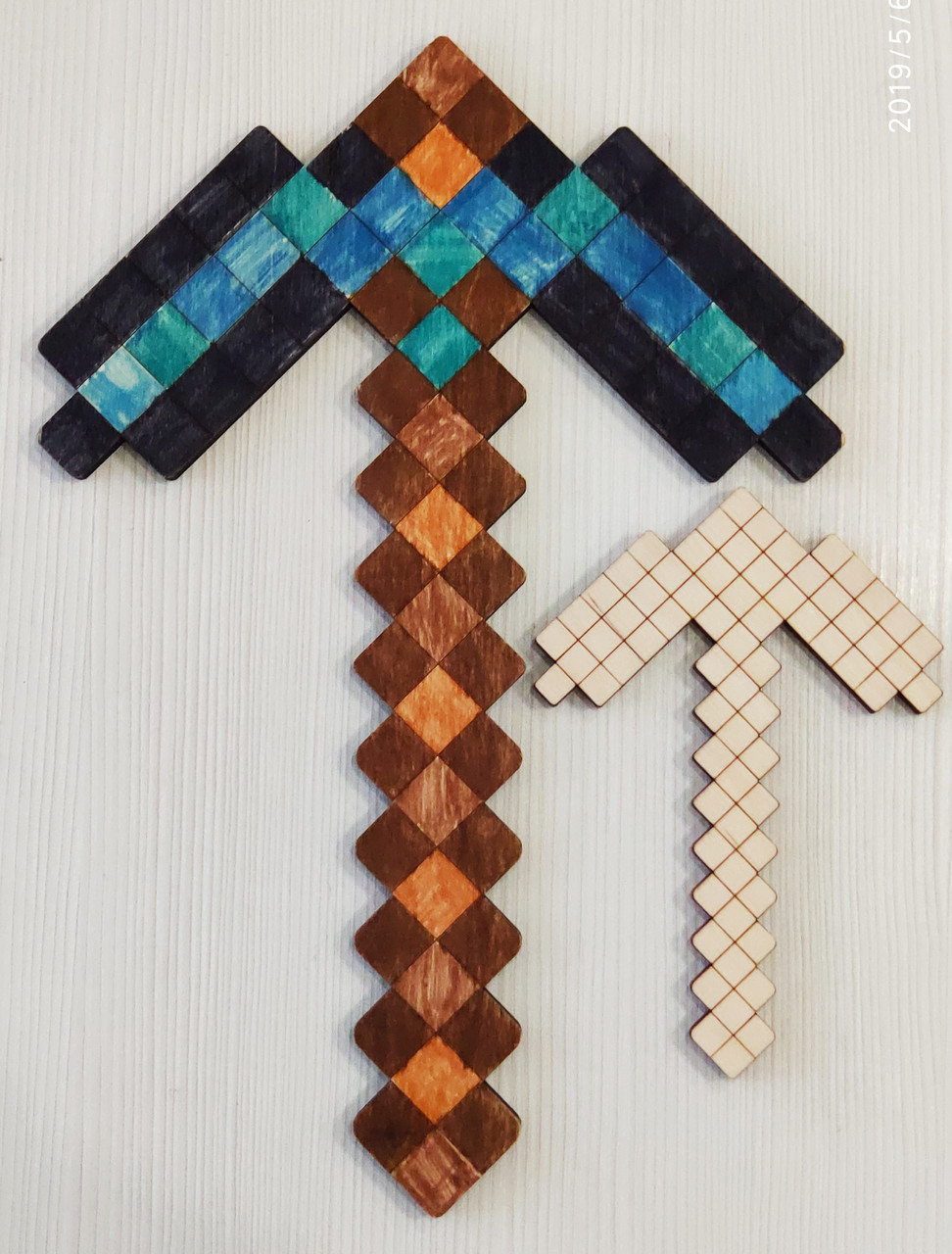 Міні кирка - розмальовка Minecraft (мини кирка - раскраска ...