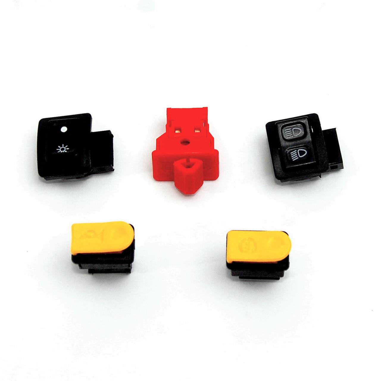 Кнопка, комплект (5 шт) DIO AF18/27 Tact AF16