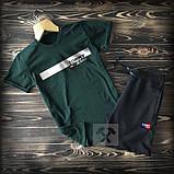 Літній костюм Tommy Hilfiger (Premium-class) зелений з сірим, фото 3