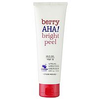 Мягкий Пилинг-Гель Для Сияния Кожи Etude House Berry AHA Bright Peel Mild Gel