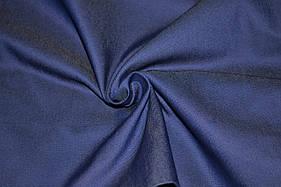 Ткань джинс стрейч темно- синий.