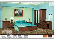 Спальня Кім ДСП-  горіх