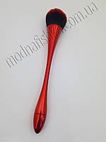 Щетка-сметка длинная ручка для удаления пыли (красная) KMR-00