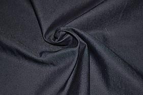 Ткань джинс стрейч черный
