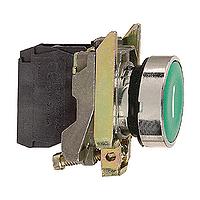 XB4BA31 Кнопка 22мм зеленая с возвратом 1НО Schneider Electric