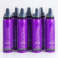 Тонирующий мусс для волос Schwarzkopf Professional  Igora Expert Mousse,100 ml
