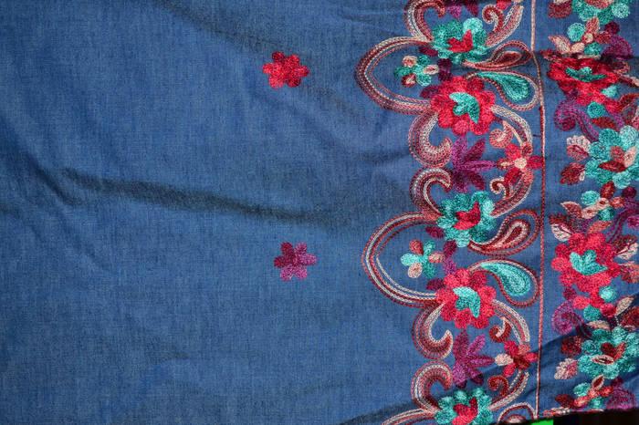 Ткань джинсовая с вышивкой купить формако ру силиконовые формы для литья из гипса