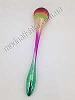 Щетка-сметка длинная ручка для удаления пыли (разноцветная) KMR-00