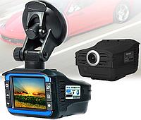 Автомобильный видеорегистратор с антирадаром DVR X7 140° Ambarella, фото 1