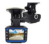 Автомобильный видеорегистратор с антирадаром DVR X7 140° Ambarella, фото 2