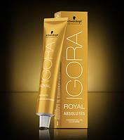 Краска для седых и зрелых волос Schwarzkopf Professional IGORA ROYAL Absolutes, 60 ml