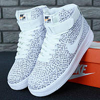ac9c941f ... Мужские Кроссовки Nike Air Force 1 High Just Do It White, Аир Форсы  белые /
