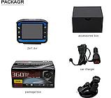 Автомобильный видеорегистратор с антирадаром DVR X7 140° Ambarella, фото 3