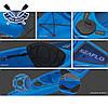 Корпусный каяк SF-1004 одноместный + весло, Sit-in, HDPE-RM, синий, 305 см, фото 2