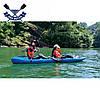 Корпусний каяк SF-4001 чотиримісний + 2 весла, sit-on-top, HDPE-RM, синій, 340 см, фото 3