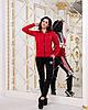 Женский спортивный костюм с лампасами:штаны и кофта на змейке с воротом стойкой, реплика Адидас, фото 6