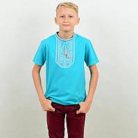Вышиванка-футболка для мальчика