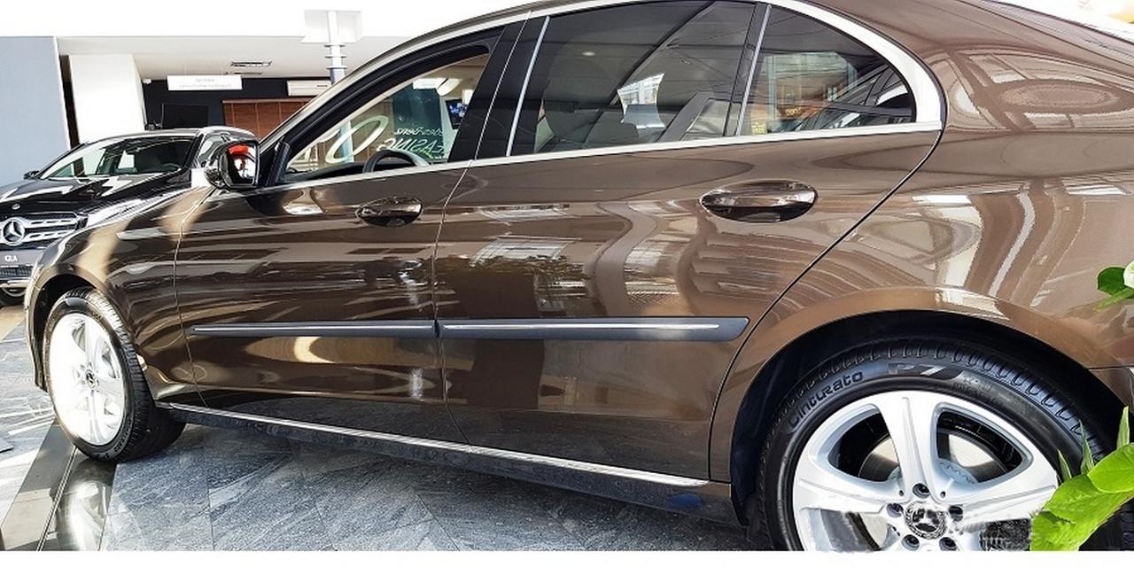 F-62 Mercedes-Benz E-class W213 2016+ door mouldings