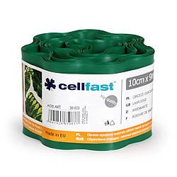 Газонный бордюр Cellfast Темно-зеленый