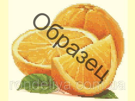 Схема для вышивки бисером «Апельсины»