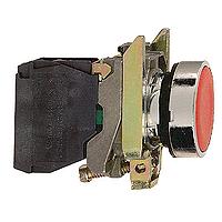 XB4BA42 Кнопка 22мм красная с возвратом 1НЗ Schneider Electric