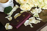 Ключница натуральная кожа аксессуар Boorbon 408 ручная работа для ключей подарок брелок на ключи
