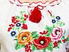 """Платье женское вышитое """"Диана"""" лен на короткий рукав , фото 3"""
