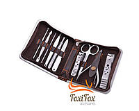 Маникюрный набор в футляре 10 инструментов, фото 1