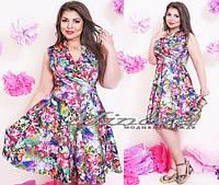 Платье большого размера 50-54