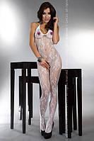 Эротический боди- комбинезон Livia Corsetti (Ливия Корсетти) Eden, черный, белый, фото 1