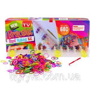 Станок и набор резиночек для плетения браслетов (феничек)