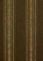 Обои на стену, винил, еще более 900 видов, горячего тиснения,золото полоса 6126-44 Palitra, 0,53*10м