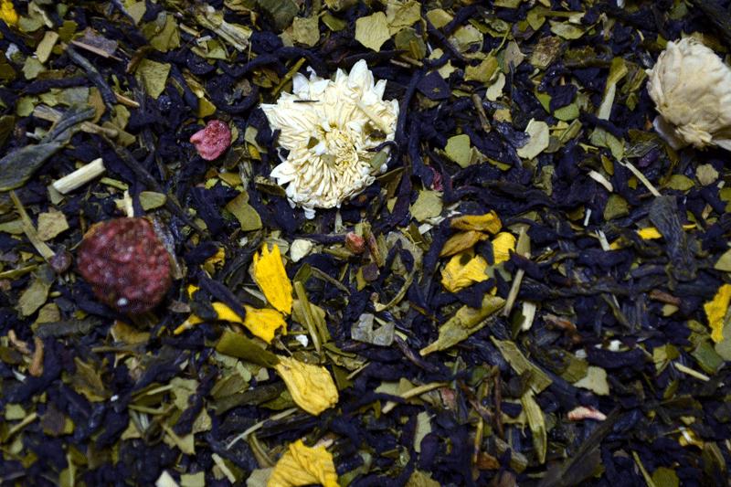 Смесь чёрного и зелёного чая Поцелуй Ангела / Tea Angel kiss (250 г)