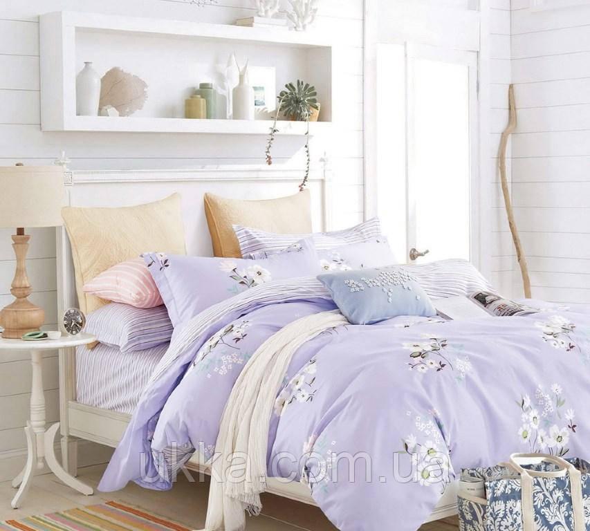 Двуспальное постельное белье Вилюта ранфорс 19006