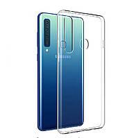 Прозрачный силиконовый чехол для Samsung Galaxy A9 2018 A920F