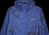 Легкая летняя мужская ветровка Nike (синий)., фото 3