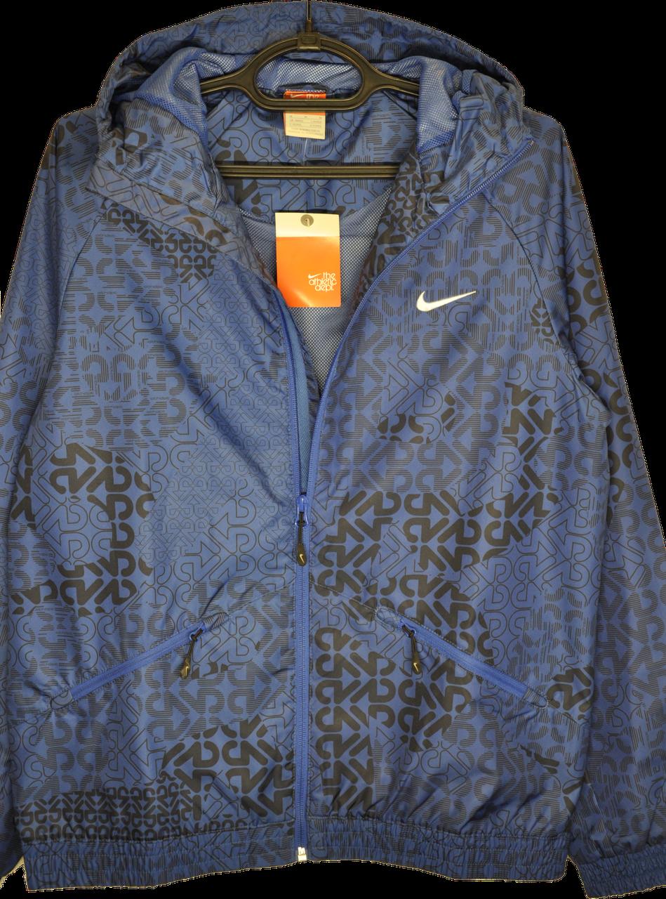 71c8dfa1 Легкая мужская ветровка Nike (синий).: продажа, цена в Киеве ...