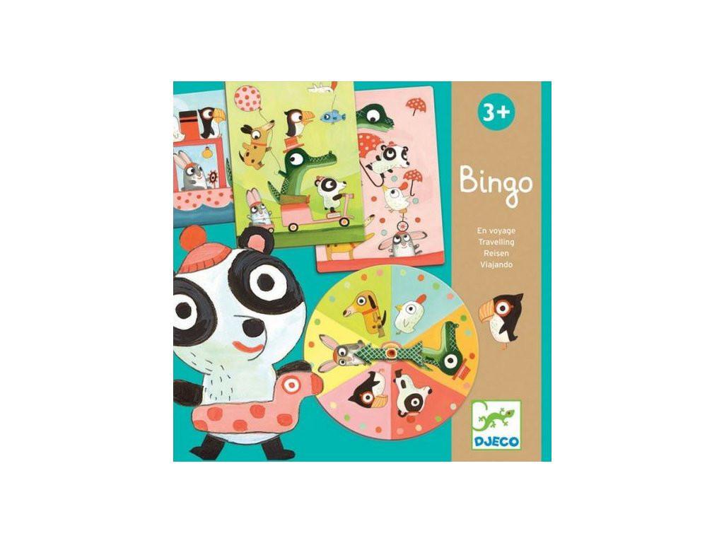 Игра детское лото Бинго путешествия DJECO (DJ08113)