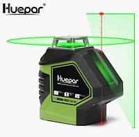Лазерный уровень Huepar HP-621CG зелёные лучи, фото 1
