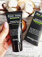 Маска Bioaqua Blackhead Removal Bamboo Charcoal Black Mask, фото 1