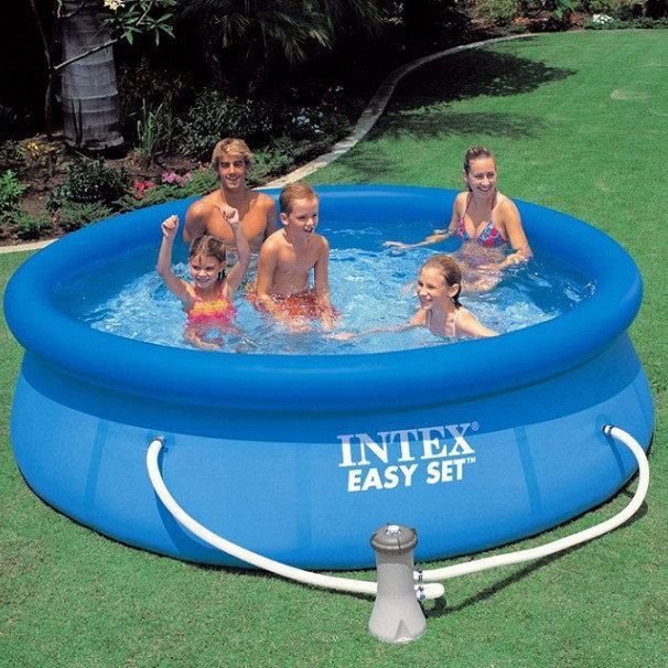 Сімейний басейн Easy Set 244x76 см з фільтр-насосом