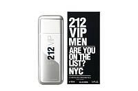 Мужская туалетная вода Carolina Herrera 212 VIP Men (стильный аромат)