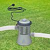 Фильтр-насос 28602 для бассейнов не более 305 см, 1250 л/ч, картридж Н