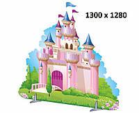 """Декорация """"Замок розовый"""""""