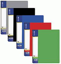 Папка пластиковая Economix A4 30 файлов 30603