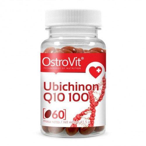 Витамины Коэнзим OstroVit Ubichinon Q10 100 mg 60 caps