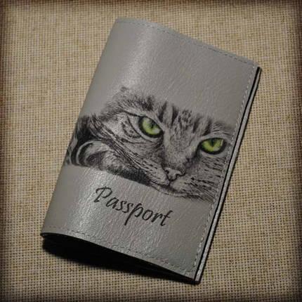 Обложка женская для паспорта -Кошечка-, фото 2