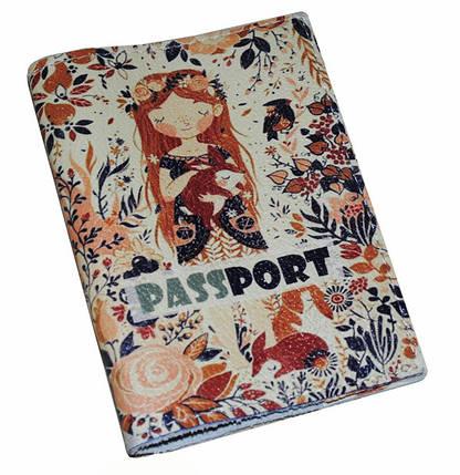 Обложка для паспорта женская -Любовь к природе-, фото 2