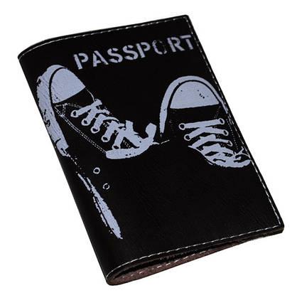 Обложка для паспорта -Кеды-, фото 2